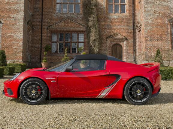 LOTUS ELISE CONVERTIBLE SPECIAL EDITIONS 1.8 Heritage Edition 220 2dr