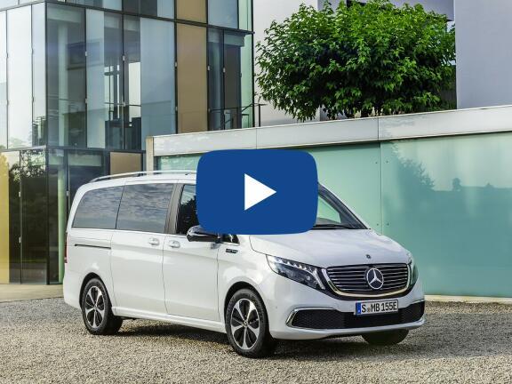 Video Review: MERCEDES-BENZ EQV ESTATE EQV 300 150 kW Sport Premium Plus 90 kWh 5dr Auto