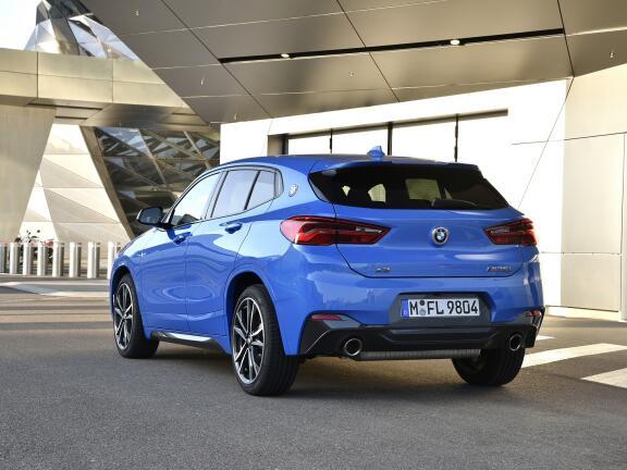 BMW X2 DIESEL HATCHBACK xDrive 18d M Sport X 5dr Step Auto