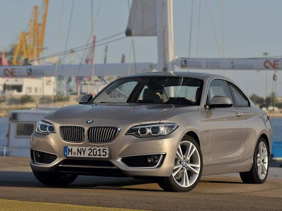 BMW 2 SERIES COUPE 218i Sport 2dr [Nav] Step Auto