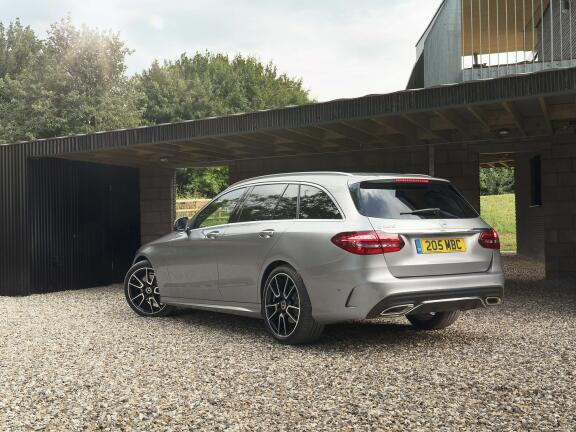 MERCEDES-BENZ C CLASS ESTATE SPECIAL EDITIONS C220d AMG Line Night Ed Premium + 5dr 9G-Tronic