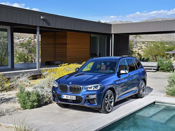 BMW X3 DIESEL ESTATE xDrive M40d 5dr Step Auto