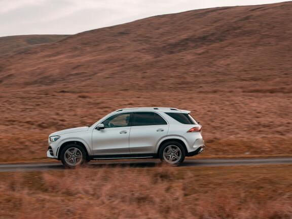 MERCEDES-BENZ GLE DIESEL ESTATE GLE 350d 4Matic AMG Line Executive 5dr 9G-Tronic