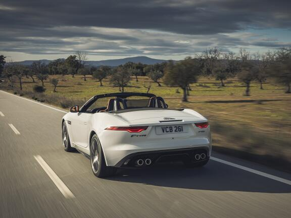 JAGUAR F-TYPE CONVERTIBLE SPECIAL EDITIONS 2.0 P300 First Edition 2dr Auto