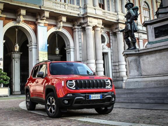 JEEP RENEGADE HATCHBACK 1.3 Turbo 4xe PHEV 190 Longitude 5dr Auto