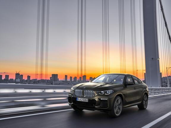 BMW X6 DIESEL ESTATE xDrive30d M Sport 5dr Step Auto