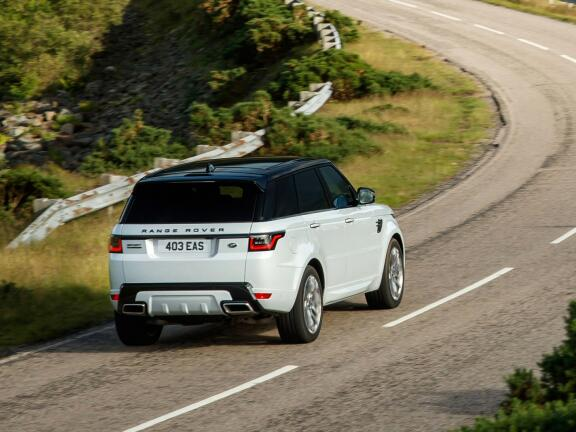 LAND ROVER RANGE ROVER SPORT ESTATE 5.0 P575 S/C SVR 5dr Auto
