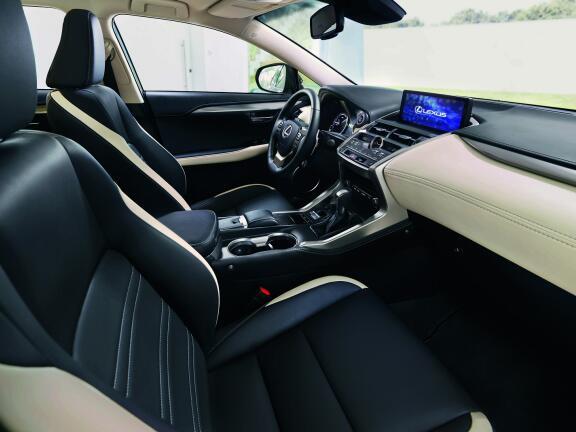 LEXUS NX ESTATE 300h 2.5 F-Sport 5dr CVT [PremiumPk/Leather/PanRf]