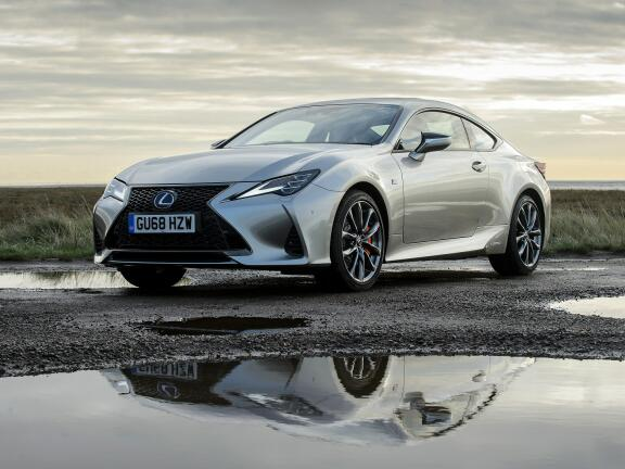 LEXUS RC COUPE 300h 2.5 F-Sport 2dr CVT [Sunroof]
