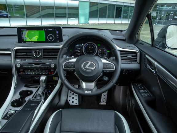 LEXUS RX ESTATE 450h 3.5 F-Sport 5dr CVT [Takumi pack]