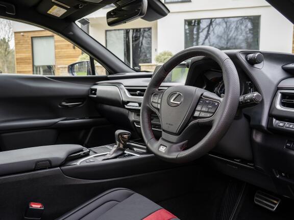 LEXUS UX HATCHBACK 250h E4 2.0 F-Sport 5dr CVT [Premium Plus/Sunroof]