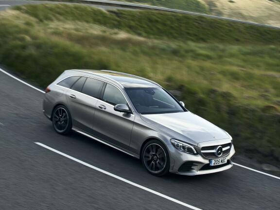 MERCEDES-BENZ C CLASS ESTATE SPECIAL EDITIONS C300d AMG Line Night Edition Premium 5dr 9G-Tronic
