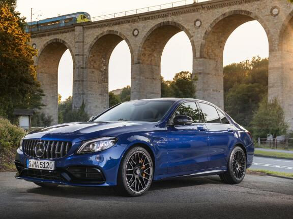 MERCEDES-BENZ C CLASS AMG SALOON C63 S 4dr 9G-Tronic