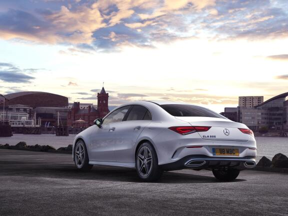 MERCEDES-BENZ CLA AMG COUPE CLA 35 4Matic 4dr Tip Auto