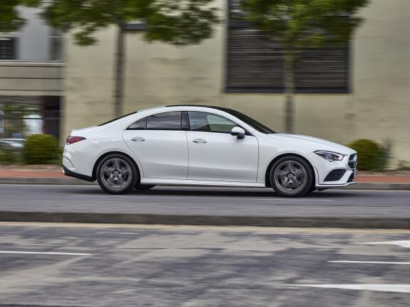 MERCEDES-BENZ CLA AMG COUPE CLA 45 S 4Matic+ Plus 4dr Tip Auto