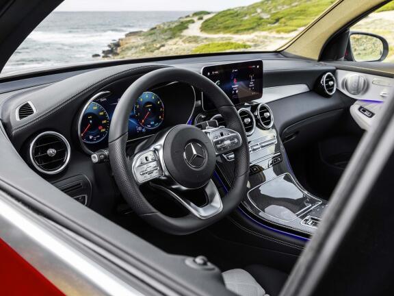 MERCEDES-BENZ GLC DIESEL COUPE GLC 220d 4Matic AMG Line Premium 5dr 9G-Tronic