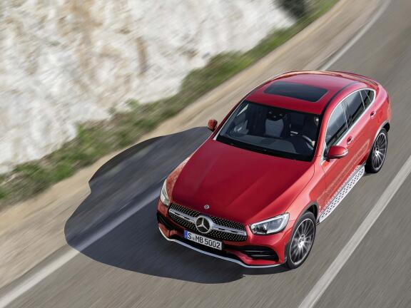 MERCEDES-BENZ GLC DIESEL COUPE GLC 300d 4Matic AMG Line Ultimate 5dr 9GTron