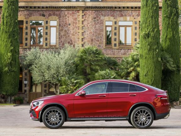 MERCEDES-BENZ GLC AMG COUPE GLC 63 4Matic+ 5dr MCT
