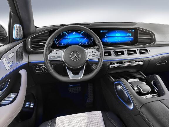 MERCEDES-BENZ GLE DIESEL ESTATE GLE 350de 4Matic AMG Line 5dr 9G-Tronic