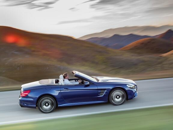 MERCEDES-BENZ SL CLASS CONVERTIBLE SPECIAL EDITIONS SL 400 Grand Edition 2dr 9G-Tronic