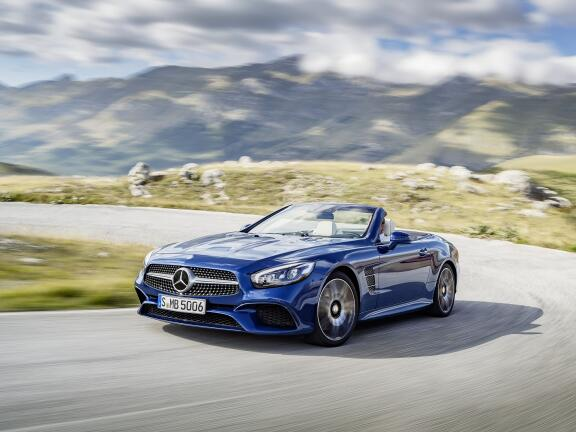 MERCEDES-BENZ SL CLASS CONVERTIBLE SPECIAL EDITIONS SL 500 Grand Edition 2dr 9G-Tronic