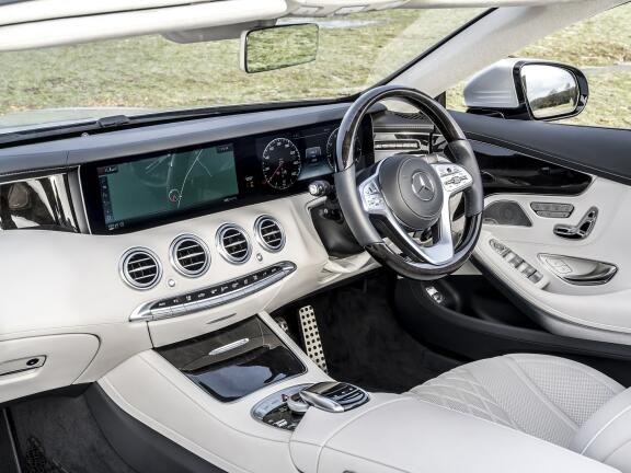 MERCEDES-BENZ S CLASS AMG CABRIOLET S63 [612] 2dr MCT