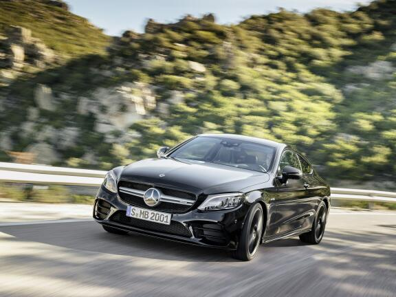 MERCEDES-BENZ C CLASS AMG COUPE C43 4Matic Premium 2dr 9G-Tronic