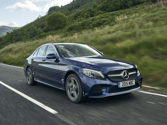 MERCEDES-BENZ C CLASS SALOON C200 AMG Line Edition 4dr 9G-Tronic
