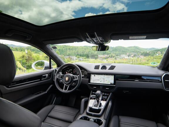 PORSCHE CAYENNE COUPE Turbo 5dr Tiptronic S [5 Seat]