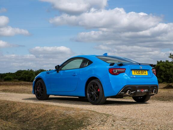 TOYOTA GT86 COUPE SPECIAL EDITION 2.0 D-4S Blue Edition 2dr