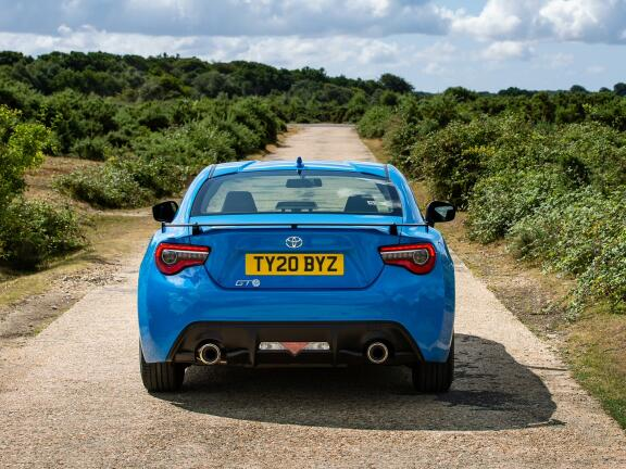 TOYOTA GT86 COUPE SPECIAL EDITION 2.0 D-4S Blue Edition 2dr [Nav]
