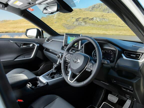 TOYOTA RAV4 ESTATE 2.5 VVT-i Hybrid Dynamic 5dr CVT [JBL + PVM]