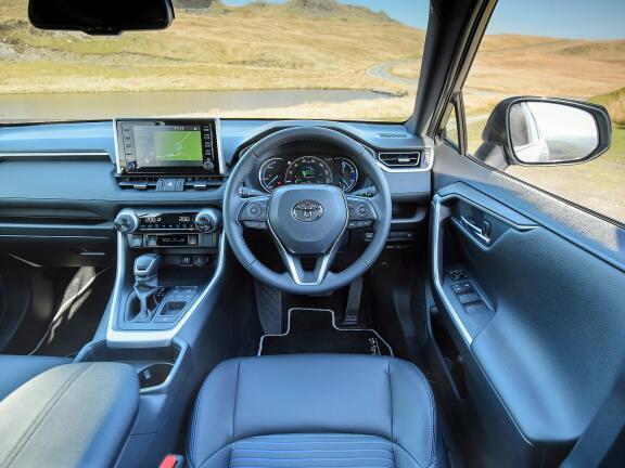 TOYOTA RAV4 ESTATE 2.5 VVT-i Hybrid Dynamic 5dr CVT [JBL + PVM] 2WD