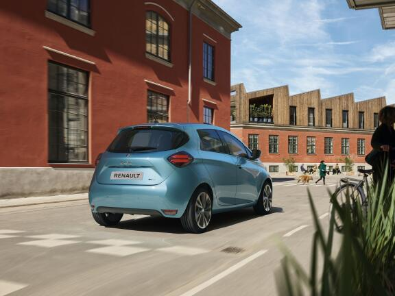 RENAULT ZOE HATCHBACK 80KW i Iconic R110 50KWh 5dr Auto