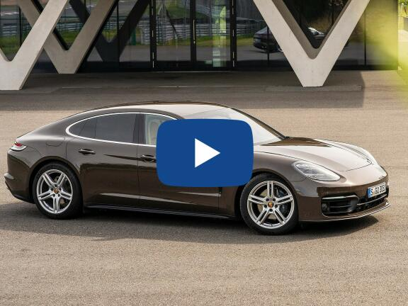 Video Review: PORSCHE PANAMERA HATCHBACK 2.9 V6 4S 5dr PDK