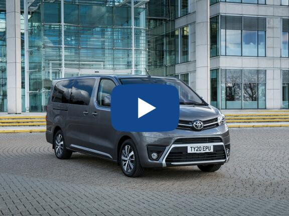 Video Review: TOYOTA PROACE VERSO DIESEL ESTATE 2.0D Shuttle Long [TSS] 5dr