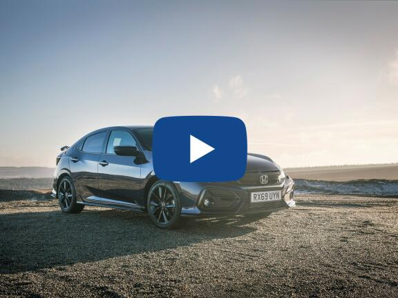 Video Review: HONDA CIVIC HATCHBACK 1.5 VTEC Turbo Sport 5dr CVT