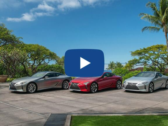 Video Review: LEXUS LC COUPE 500h 3.5 2dr Auto [Mark Levinson]