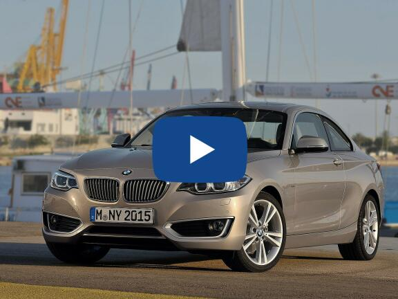 Video Review: BMW 2 SERIES COUPE 218i Sport 2dr [Nav]