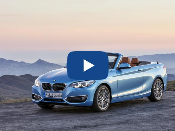 Video Review: BMW 2 SERIES CONVERTIBLE 218i SE 2dr [Nav] Step Auto