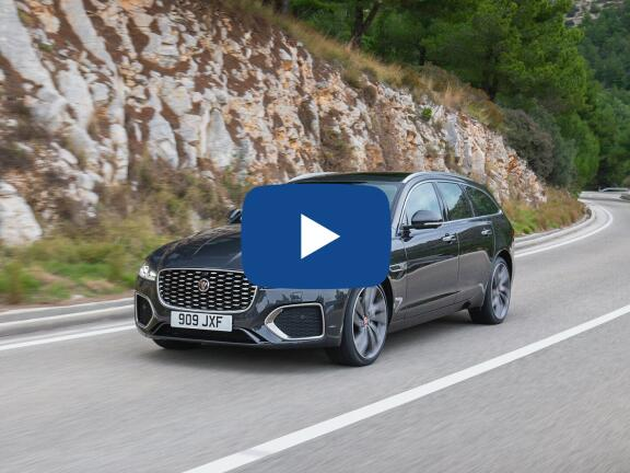 Video Review: JAGUAR XF DIESEL SPORTBRAKE 3.0d V6 Portfolio 5dr Auto