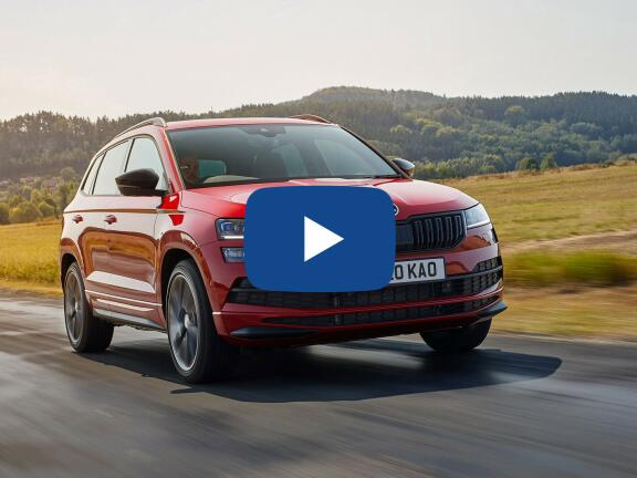 Video Review: SKODA KAROQ DIESEL ESTATE 2.0 TDI SE L 5dr