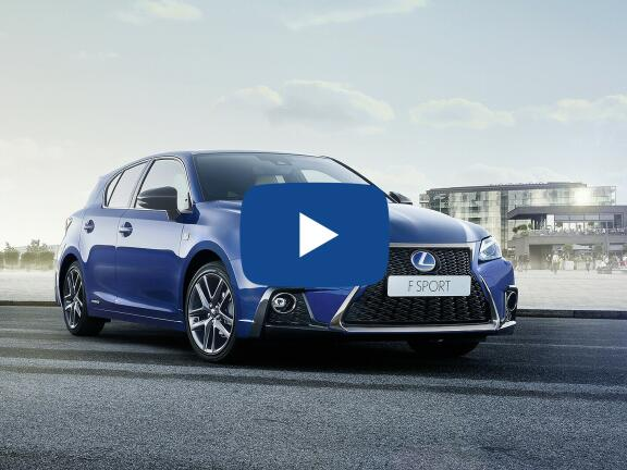 Video Review: LEXUS CT HATCHBACK 200h 1.8 F-Sport 5dr CVT