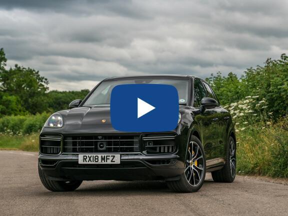 Video Review: PORSCHE CAYENNE ESTATE Turbo 5dr Tiptronic S