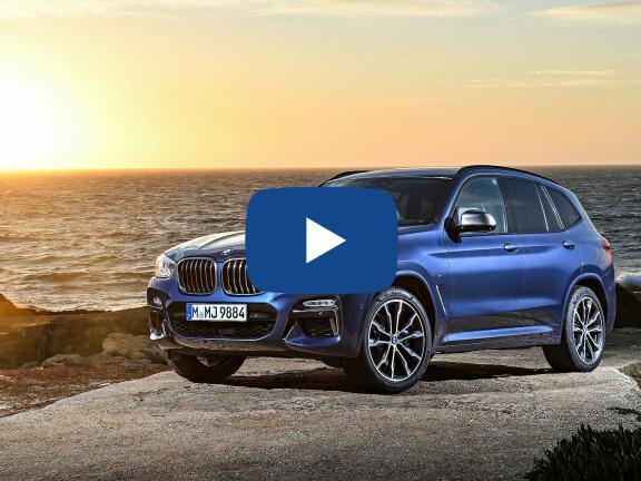 Video Review: BMW X3 ESTATE xDrive20i xLine 5dr Step Auto