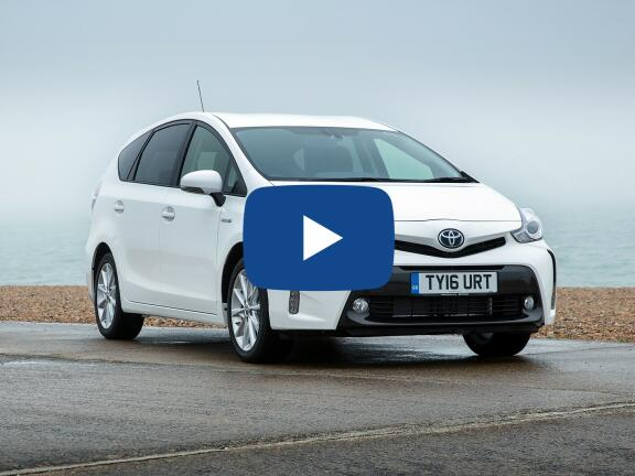 Video Review: TOYOTA PRIUS+ ESTATE 1.8 VVTi Icon TSS 5dr CVT Auto [Nav]