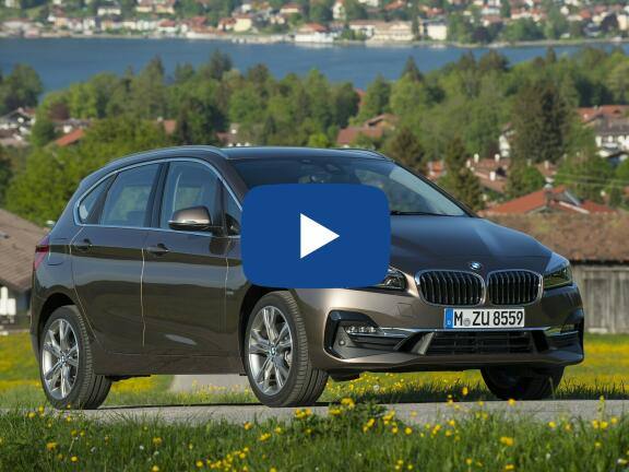 Video Review: BMW 2 SERIES ACTIVE TOURER 218i Sport 5dr