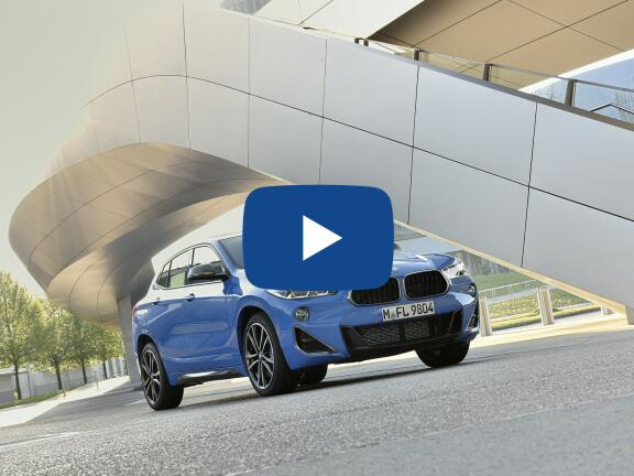 Video Review: BMW X2 DIESEL HATCHBACK sDrive 18d SE 5dr Step Auto
