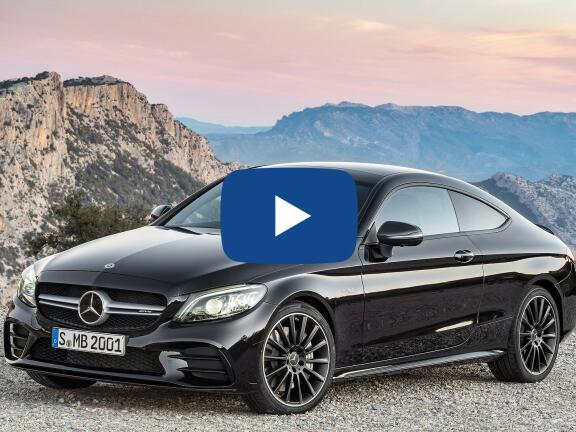 Video Review: MERCEDES-BENZ C CLASS COUPE C200 4Matic AMG Line Premium 2dr 9G-Tronic