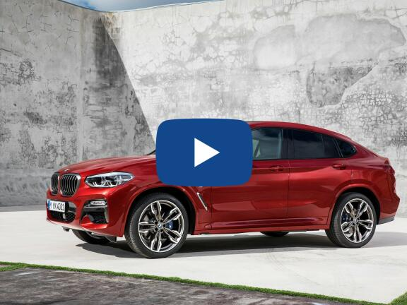 Video Review: BMW X4 ESTATE xDrive M40i 5dr Step Auto